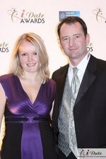 Mark and Irena Brooks at the 2010 iDate Awards