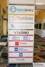 Sponsors Signage at the January 27-29, 2010 Internet Dating Conference in Miami