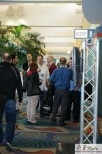 Hallway at the 2010 Miami Internet Dating Conference