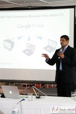 Raj Prajapat at the Google Session Internet Dating Conference Los Angeles iDate 2010