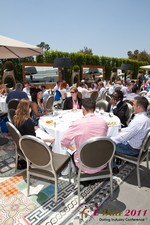 Mobile Dating Executives Meet for the iDate Lunch at the iDate Dating Business Executive Summit and Trade Show
