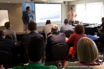 Lucien Schneller & Pedro Queiroz from Google at iDate Down Under 2012