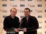 Honor Gunday & Benoit Boisset - PaymentWall won Best Payment System for 2012 at the 2012 iDateAwards Ceremony in Miami held in Miami Beach