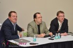 IDEA Session Panel - Max McGuire, Brian Bowman and Lorenz Bogaert at the January 23-30, 2012 Internet Dating Super Conference in Miami