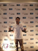 Joel Simkhai - Grindr.com - Winner of 2 Awards in 2012 in Miami Beach at the 2012 Internet Dating Industry Awards