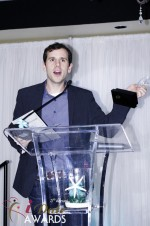 Brian Schechter - HowAboutWe.com - Winner of Best Up And Coming Dating Site 2012 at the 2012 Miami iDate Awards Ceremony