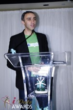 Sam Yagan - OKCupid - Winner of Most Innovativee Company 2012 at the 2012 iDateAwards Ceremony in Miami