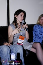 iDate2012 Dating Industry Final Panel - Tanya Fathers at the 2012 Internet Dating Super Conference in Miami