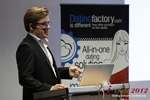 Florian Braunschweig (CTO of Lovoo) at the September 10-11, 2012 Koln E.U. Internet and Mobile Dating Industry Conference