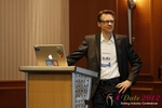 Moritz Von Tobiesen (Account Manager at Google) at the 2012 E.U. Online Dating Industry Conference in Koln