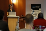 Tanya Fathers (CEO of Dating Factory) at the 2012 Koln E.U. Mobile and Internet Dating Summit and Convention