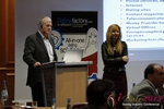 Tim Ford and Monica Whitty at the 9th Annual Euro iDate Mobile Dating Business Executive Convention and Trade Show