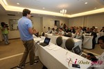 Alexander Harrington (CEO of MeetMoi)  at the June 20-22, 2012 Mobile Dating Industry Conference in Los Angeles