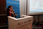 Beverly May (CEO and Founder of Minidates) at iDate2012 Los Angeles