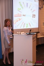 Amanda Mills (Director of Product at AOL Mobile) at the 2012 Los Angeles Mobile Dating Summit and Convention