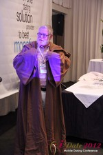 Jonathan Crutchley (Chairman at Manhunt) is actually Obi Wan Kenobi! at the 2012 Los Angeles Mobile Dating Summit and Convention