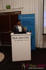 Santanu Basu (Sr Product Manager at Bing) at the June 20-22, 2012 Los Angeles Internet and Mobile Dating Industry Conference