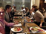 Lunch at the  Eastern European iDate Mobile Dating Business Executive Convention and Trade Show
