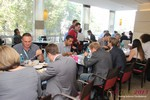 Lunch at the September 16-17, 2013 Cologne European Internet and Mobile Dating Industry Conference
