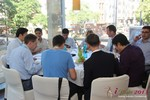 Lunch at the September 16-17, 2013 Mobile and Online Dating Industry Conference in Germany