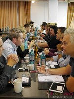 Speed Networking at the 2013 European Internet Dating Industry Conference in Cologne