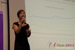 Charisma Levonleigh  (Google) at the January 16-19, 2013 Las Vegas Internet Dating Super Conference