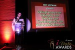 Maria Avgitidis announcing the Best Dating Software and SAAS in Las Vegas at the January 17, 2013 Internet Dating Industry Awards