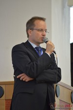 Dieter Plassman, CTO at Net-M  at iDate2014 Europe