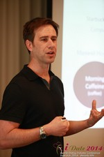 Author Neal Cabage Of The Smarter Startup at the 2014 Los Angeles Mobile Dating Summit and Convention