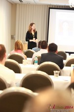 Jill James, COO of Three Day Rule Seminar On Partnership Models For Dating Leads To Online Dating at the 38th iDate2014 Los Angeles