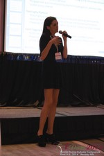 Rosalie Sutherland Of AnastasiaDate Speaking On Mobile Dating Conversions  at the June 4-6, 2014 Mobile Dating Industry Conference in Los Angeles