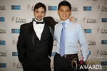 Arthur Malov & Kevin Feng  at the 2014 iDateAwards Ceremony in Las Vegas