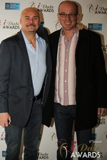 Sean Kelley & Benoit Le Chevallier  at the 2014 iDateAwards Ceremony in Las Vegas held in Las Vegas