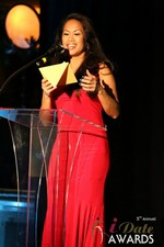 Carmelia Ray  at the 2014 iDateAwards Ceremony in Las Vegas