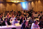 Audience at Final Panel Debate at iDate2014 Las Vegas