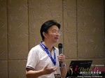 Dr. Song Li - CEO of Zhenai at the 2015 Asia and China Internet Dating Industry Conference in Beijing