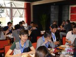 Lunch at the 2015 Beijing China & Asia Mobile and Internet Dating Expo and Convention