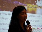Violet Lim - CEO of Lunch Actually at the 2015 Asia Internet Dating Industry Conference in China