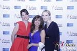 Leila Benton-Jones, Renee Piane and Rachel MacLynn at the 2015 iDate Awards