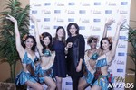 Media Wall with Awards Dancers at the 2015 Internet Dating Industry Awards Ceremony in Las Vegas