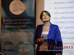 Pauline Tourneur General Manager Of Attractive World Speaking On The French Online And Mobile Dating Market  at the October 14-16, 2015 London Euro and U.K. Online and Mobile Dating Industry Conference