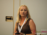Krystina Trushnya - Publisher of Ukranian Dating Blog at the 45th Dating Agency Business Conference in Cyprus