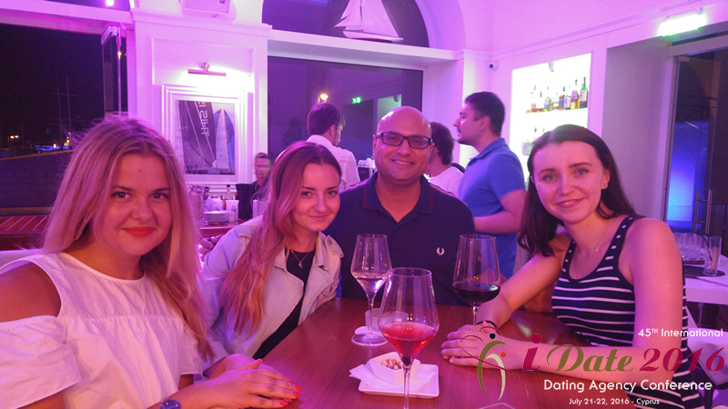 Anastatia Date Networking Party at The Yacht Club at the 45th iDate Premium International Dating Industry Trade Show