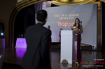 Svetlana Mukha Presenting the Best Up & Coming Dating Site Award at the 2016 iDateAwards Ceremony in Miami