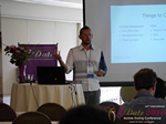 Kenny Hyder (VP of Equate Media)  at the 38th Mobile Dating Indústria Conference in L.A.