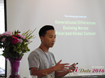 Monty Suwannukul (Product designer at Grindr)  at the 2016 Internet and Mobile Dating Business Conference in Los Angeles