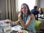 Lunch at the 2017 International Romance Industry Conference in Misnk, Belarus