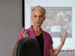 Olga Korsakova at the iDate International Romance Business Executive Convention and Trade Show